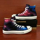 Popular Galaxy Converse Shoes Custom Design Hand Painted Shoes Unique Canvas Sneakers Presents