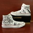 Anime Seven Deadly Sins Converse Shoes Custom Hand Painted Canvas Sneakers Men Women Birthday Gifts