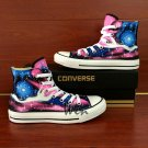 Men Women Custom Converse Galaxy Planet Hand Painted Canvas Shoes Personalized Birthday Gifts