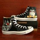 Custom Anime Naruto Uchiha Sasuke Itachi Converse All Star Hand Painted Shoes Unique Canvas Sneakers