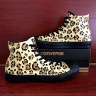 Custom Converse Shoes Leopard Print Hand Painted Canvas Sneakers Men Women Unique Christmas Gifts