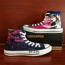 Custom Anime Bleach Shoes Converse Chuck Taylor Hand Painted Shoes High Top Fashion Canvas Sneakers