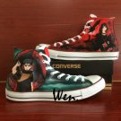 Naruto Shippuuden Itachi Shisui Hand Painted Shoes Converse All Star Unique Canvas Sneakers