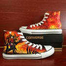Anime Converse All Star Unlimited Blade Works Custom Hand Painted Shoes Unique Canvas Sneakers