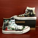 Men Women Gifts Custom Converse Shoes Anime Noragami Hand Painted Canvas Shoes High Top Sneakers