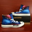 High Fashion Galaxy Converse All Star Shoes Custom Design Hand Painted Canvas Shoes Birthday Gifts
