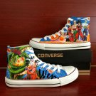 Unique Sneakers Dragon Ball Converse Chuck Taylor Custom Hand Painted Canvas Shoes Gifts