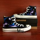 High Top Sneakers Galaxy Nebula Converse All Star Hand Painted Shoes Unique Canvas Sneakers