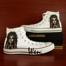 Unique Converse Shoes Candy Skull Girl Hand Painted Shoes White Canvas Sneakers Birthday Gifts