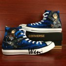 Custom Design Converse SAO Attack On Titan Hand Painted Canvas Shoes High Top Fashion Sneakers