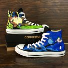 My Neighbor Totoro Anime Hand Painted Converse Shoes Unisex Canvas Sneakers