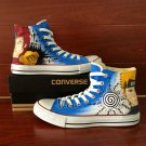 Custom Design Naruto Shoes Anime Converse Gaara Hand Painted Canvas Sneakers for Man Woman