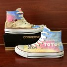 My Neighbor Totoro Anime Canvas Sneakers Converse Chuck Taylor Hand Painted Shoes