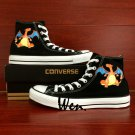 Design Pokemon Charizard Anime Converse All Star Unisex Hand Painted Canvas Sneakers