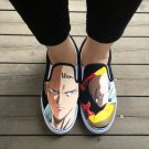 Wen Anime Shoes Hand Painted Slip On Design One Punch Man Men Women Canvas Sneakers