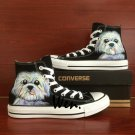 Custom Design Pet Dog Hand Painted Shoes Unisex Converse All Star High Top Canvas Sneakers