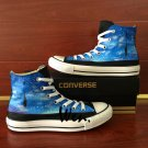 Original Galaxy Balloon Women Sneakers Canvas Shoes Hand Painted Converse All Star Men Chucks