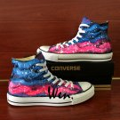 Original Canvas Shoes Colorful Galaxy Hand Painted Converse Sneakers High Top All Star