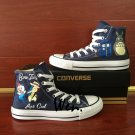 Men Women Converse Chuck Taylor High Top Shoes Anime Pokemon Totoro Design Canvas Sneakers