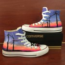Original Design Hand Painted Converse Shoes Wind Power Generation Canvas Sneakers