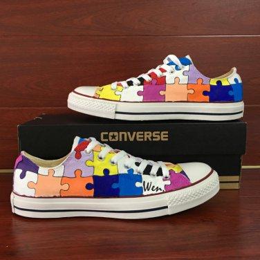 canvas shoes painting design