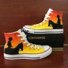 Hand Painted Converse Original Design Cowboy Graffiti Shoes Unisex Chuck Taylor Sneakers