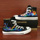 Houston Skyline Converse Shoes Custom Design Hand Painted Sneakers Men Women Chuck Taylor