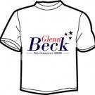 Glenn Beck for President 2008 T Shirt
