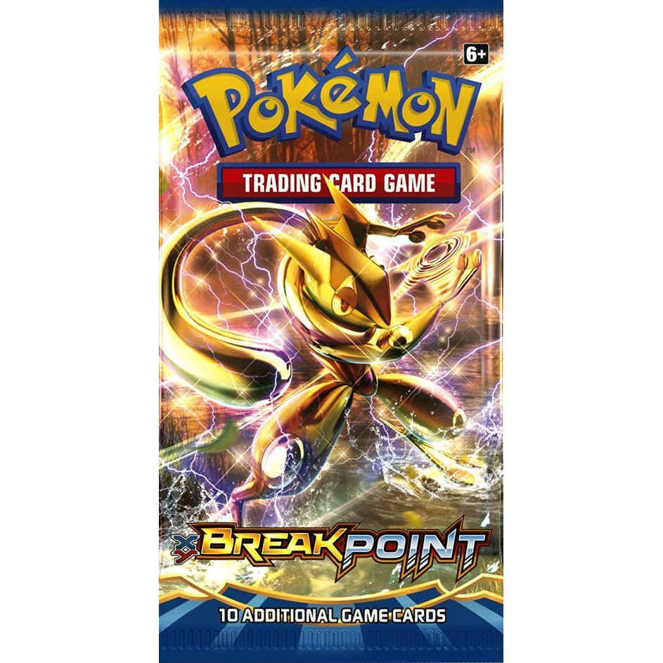 BREAKpoint DIGITAL Booster Pack (XY Series) Pokemon TCGO TCG Online READ DESCRIPTION!