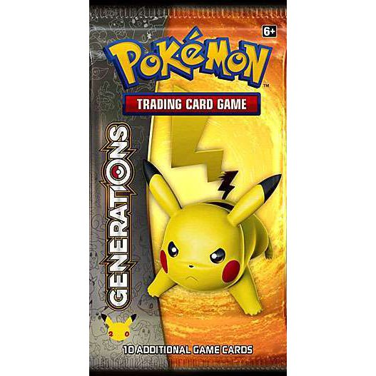 Generations DIGITAL Booster Pack (XY Series) Pokemon TCGO TCG Online READ DESCRIPTION!