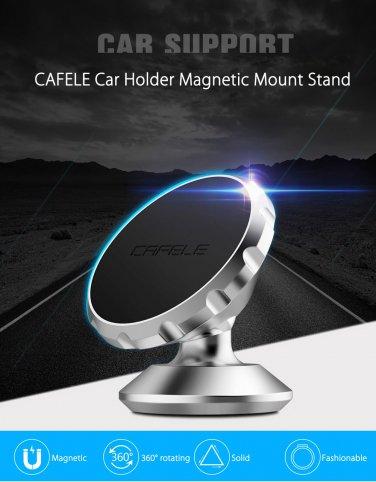 Universal car mount bracket for smartphone, tablet, GPS, etc. Brand CAFELE color Black