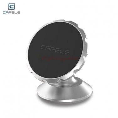 Universal car mount bracket for smartphone, tablet, GPS, etc. Brand CAFELE color Plata
