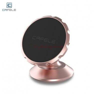 Universal car mount bracket for smartphone, tablet, GPS, etc. Brand CAFELE color Rose Gold