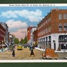 Postcard~NY~Elmira~Main St at Water St~ca.1920