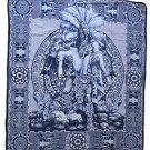 Aztec Warrior Blanket