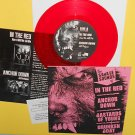 "IN THE RED , DRUNKEN BOAT , BASTARDS OF YOUNG , ANCHOR DOWN 7"" Record RED Vinyl"