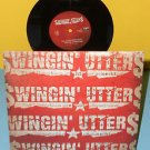 """SWINGIN' UTTERS the librarians are hiding , rude little.. 7"""" Vinyl Record , punk"""