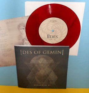 "IDES OF GEMINI hexagram 45 ep 7"" Record RED VINYL , w/ mike from Isis"