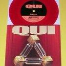 "QUI today gestation 7"" Record RED Vinyl Jesus Lizard"