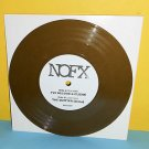"""NOFX i've become a cliche , quitter Demo 7"""" Record GOLD Vinyl , limited edition"""