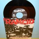 "RANCID spirit of '87 - 4 song ep 7"" Record punk Vinyl"