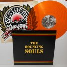 the BOUNCING SOULS self-titled s/t LP Record ORANGE Vinyl with lyrics insert