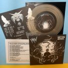 """CROW / SEE YOU IN HELL split 7"""" Record CLEAR Vinyl"""