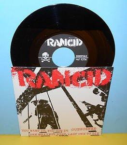 "RANCID you want it, you got it - 4 song ep 7"" Record punk Vinyl"