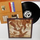 PROPAGANDHI less talk more rock LP Record PUNK vinyl with insert , weakerthans