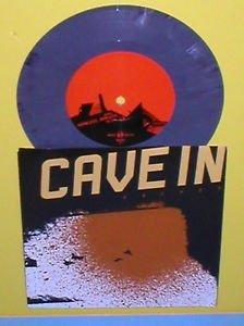 "CAVE IN anchor 7"" Record BLUE GREY PURPLE Mix color Vinyl kurt ballou Converge"