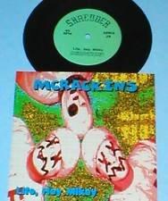 """MCRACKINS life, hey mikey 7"""" Record shredder PUNK Vinyl"""