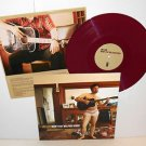 JOEY CAPE doesn't play well Lp Record MAROON Vinyl with lyrics insert , lagwagon