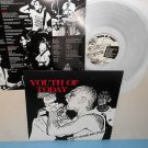 YOUTH OF TODAY can't close my eyes LP Record CLEAR Vinyl w/lyric insert, shelter