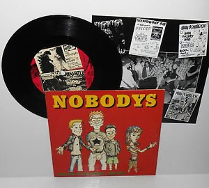 """The NOBODYS welcome to the springs 7"""" Vinyl Record , hopeless records , queers"""